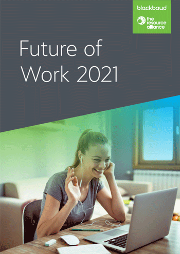 Future of Work 2021 Report Landing Page image