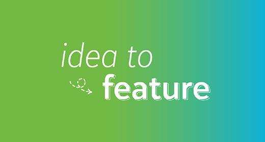 Idea to Feature