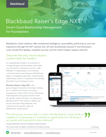 raisers-edge-nxt-for-foundations-datasheet