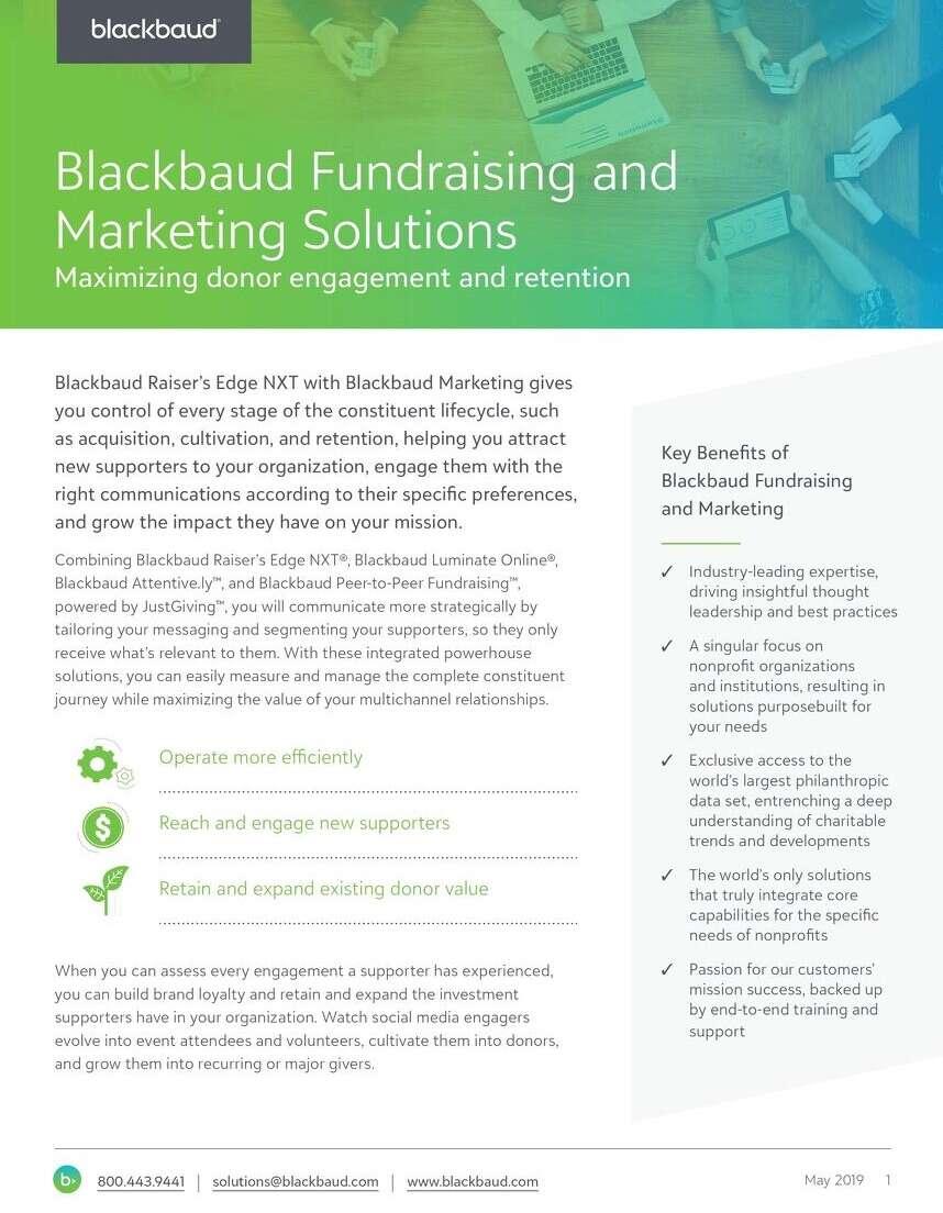 image of eBook Virtual Fundraising With Blackbaud