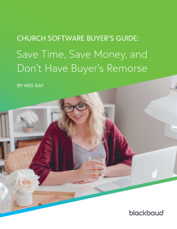 Church Software Buyer's Guide