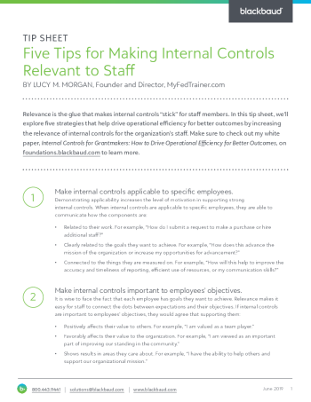 tipsheet-five-tips-for-making-internal-controls-relevant-to-staff