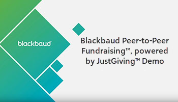 JustGiving Fundraising Solution for Foundations Demo