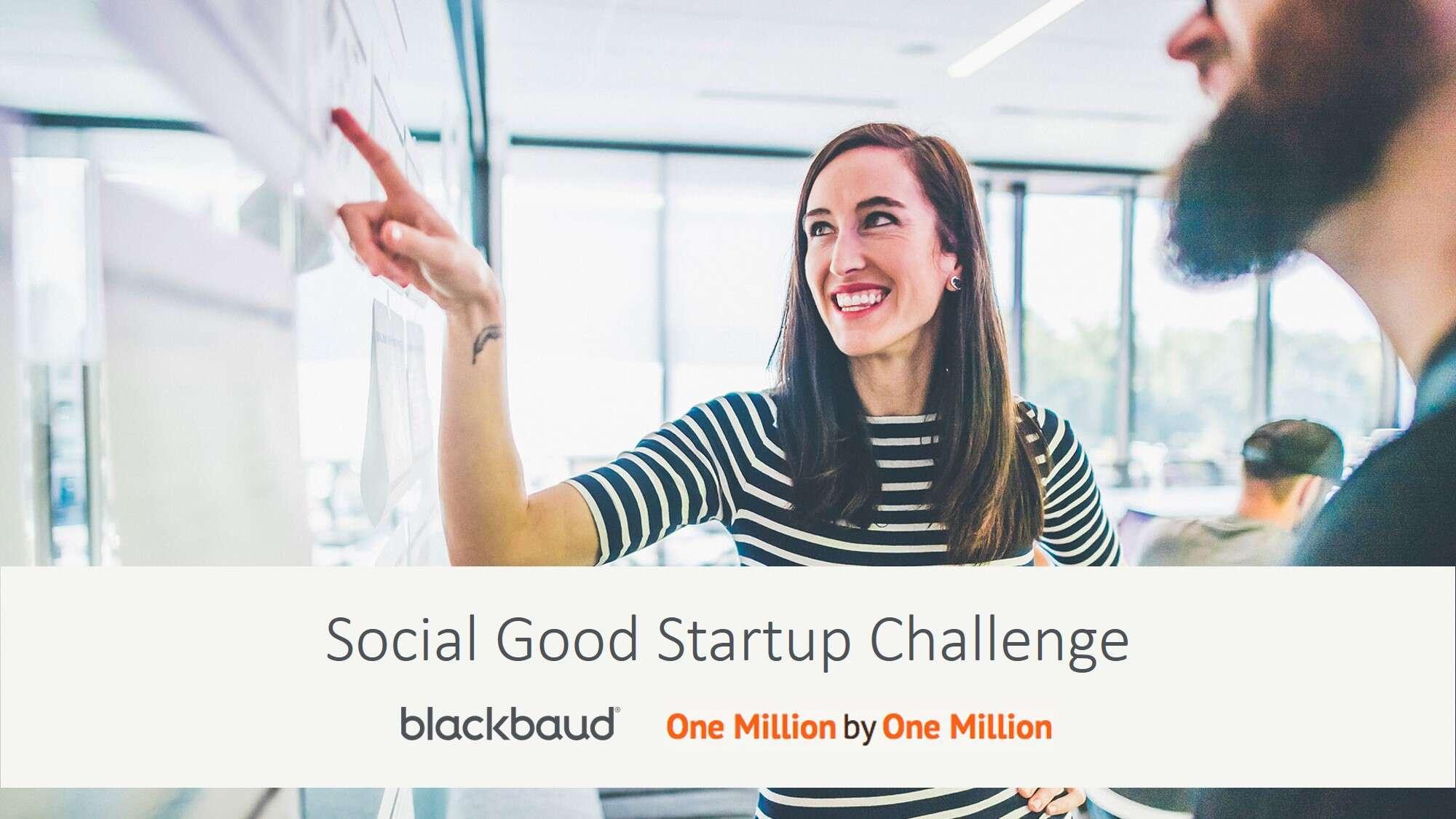 Blog image Social Good Startup Challenge