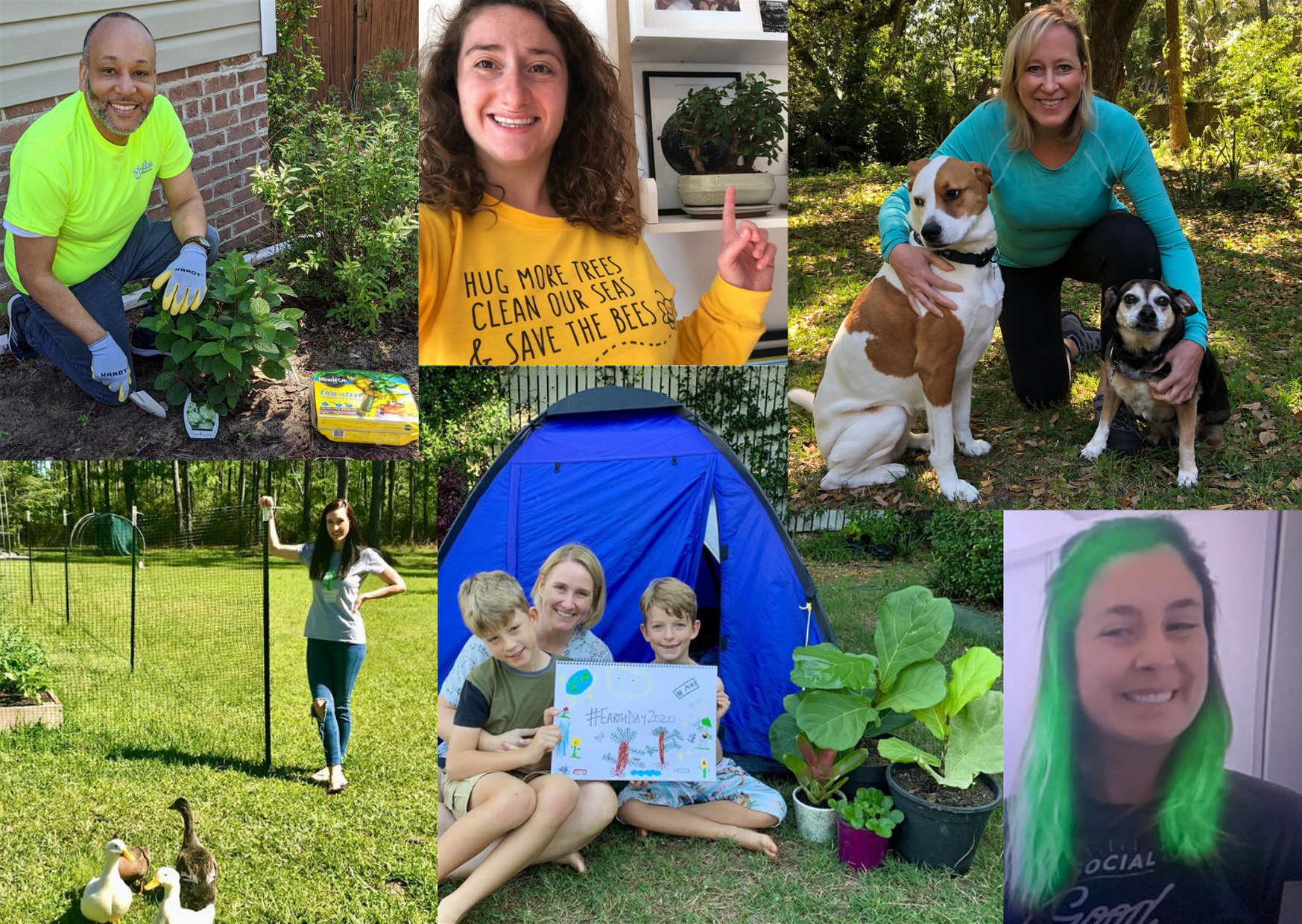 Earth Day 2020 Collage