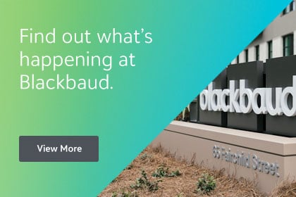 Find out what happens at Blackbaud