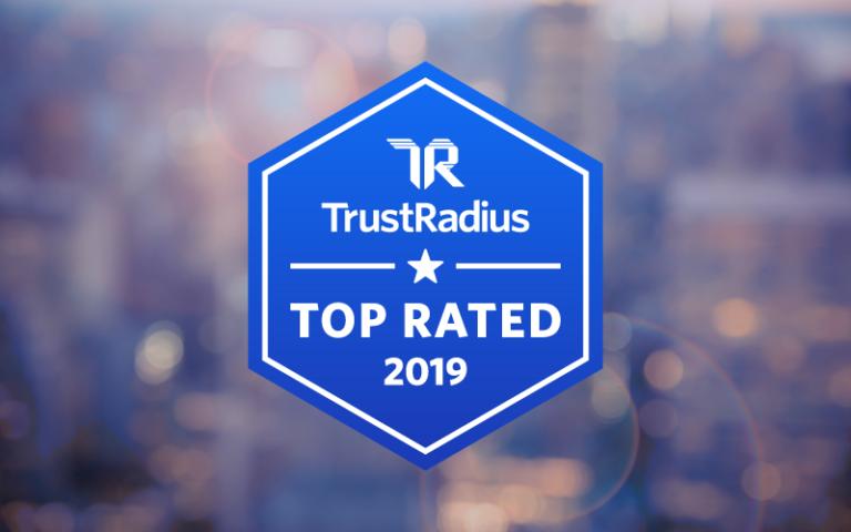 Trust Radius 2019 Award Image